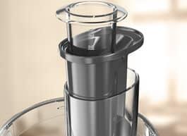 Duo feed tube